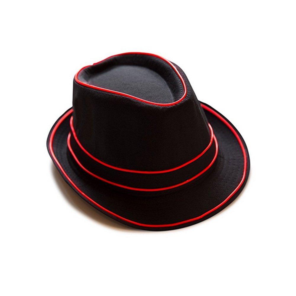 334f78e07259f Get Quotations · Light Up Fedora Hat