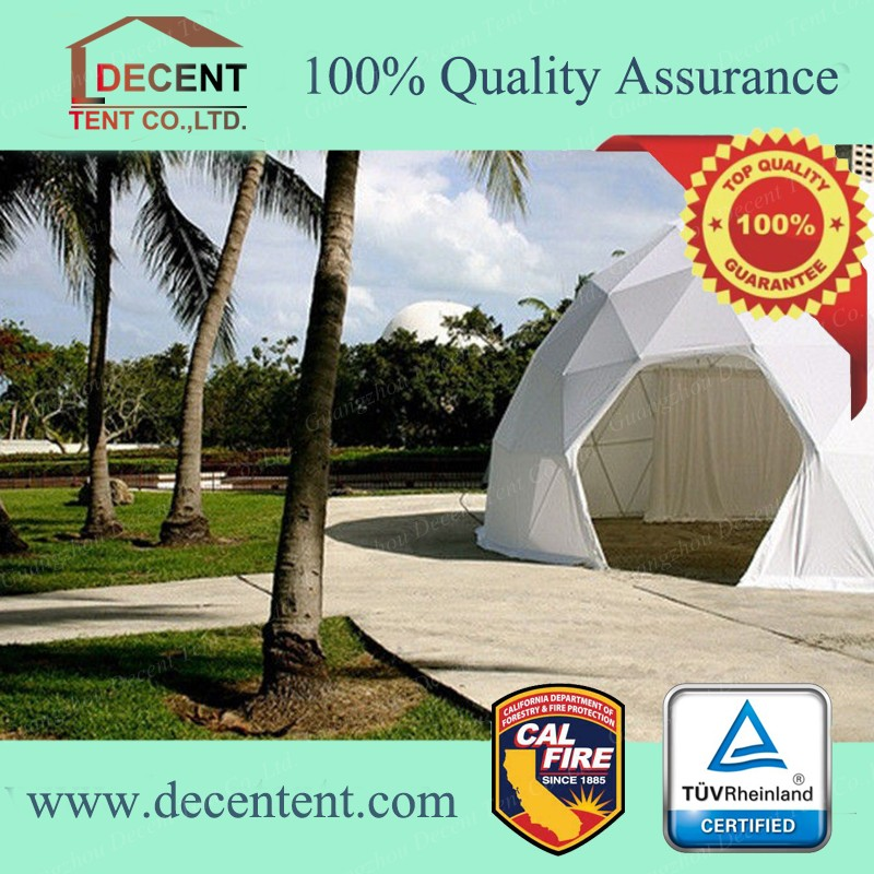Geodesic Dome Hotel Tent for Exhibition Events and Tourism House