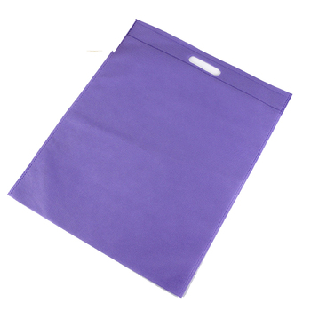 Qetesh Oem Factory Price Non Woven Garment Shopping Bag