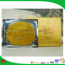 Professional skin care facial beauty face mask gold skin care facial gold mask