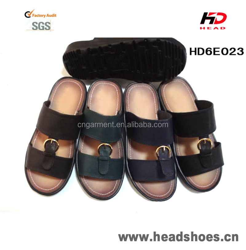 New men pu sandals and slippers arabic slippers
