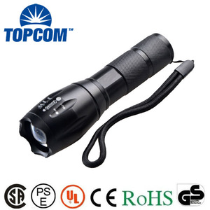 Powerful T6 Zoomable LED Flashlight And Accessories G700 X800