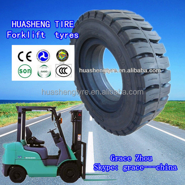 7.00-12 Forklift solid tire price