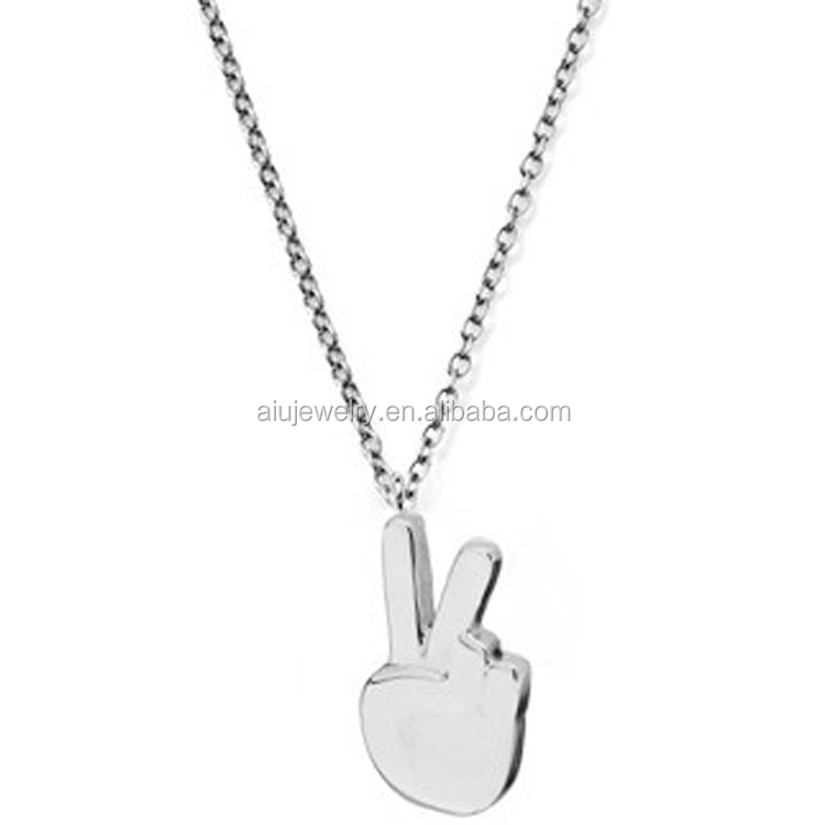 China necklace peace sign wholesale 🇨🇳 - Alibaba