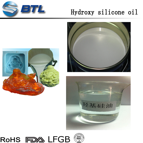 Silicone Main Raw Material of Liquid silicone rubber for making moulds