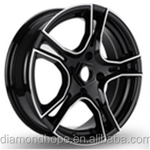 Car Rims Concave Wheel with 5 Hole in black 15 inch (ZW-HT5016)