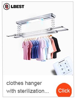 Coat rack wall mounted elegant drying rack clothes airer automatic hanger system