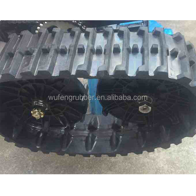 Snow Thrower Rubber Belt Snow Blower Rubber Track