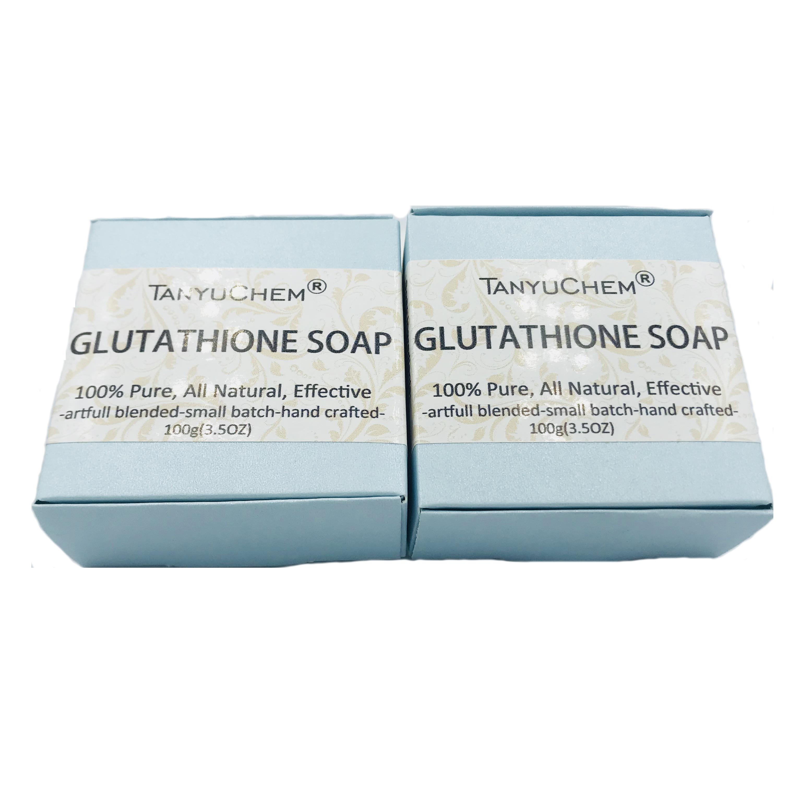 Private Label Skin Brightening and Moisturizing Goat Milk Glutathione Soap