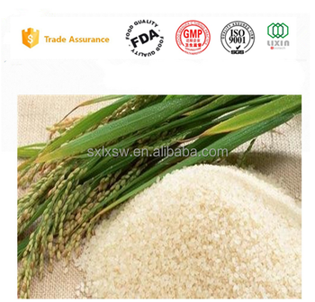 GMP Factory Price HPLC 98% Rice Bran Extract powder/ Ferulic Acid