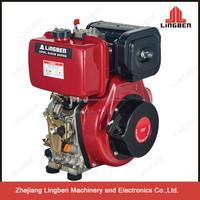 LingBen Singer Cylinder 4 Stroke Marine Diesel Engine Parts For Sale Good Motor 186F