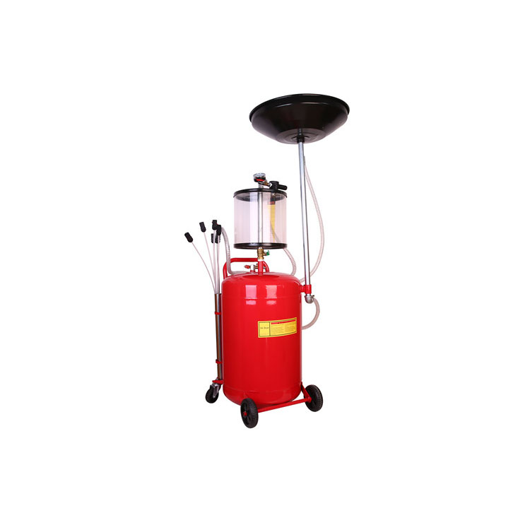 Engine vacuum car tank pneumatic used waste suction oil changer