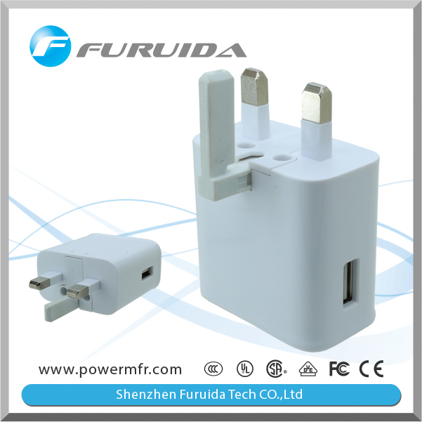 UK USB Home Charger For Nokia 7280 Smartphone Tablet (5V 2400MAH)