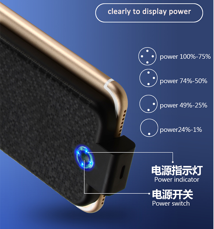universal wireless power banks 2600mah use for iphone 5 6 7 8 plus android accept oem order