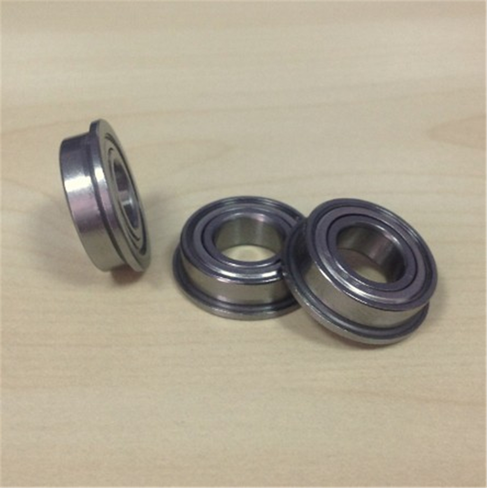 stainless steel flanged ball bearing SMF128ZZ 8*12*3.5mm