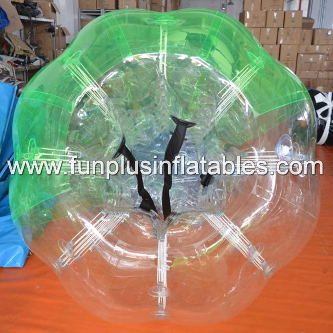 funny soccer games inflatable body bumping ball/soccer bubble ball inflatable suits F7018B