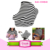 Many patterns Flexible Baby Car Seat Canopy Cover Baby Stretchy Baby Carseat Cover