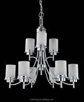 hotel modern style crytal chandelier 9 lights