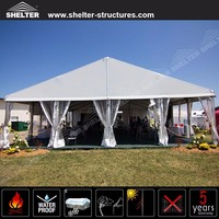 40x50m Large Outdoor garden Tents with side wall curtains for Camping