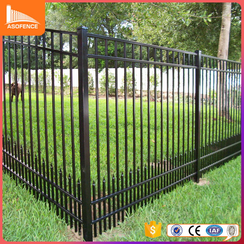 Good price for steel fence and iron mesh fence used for house and garden