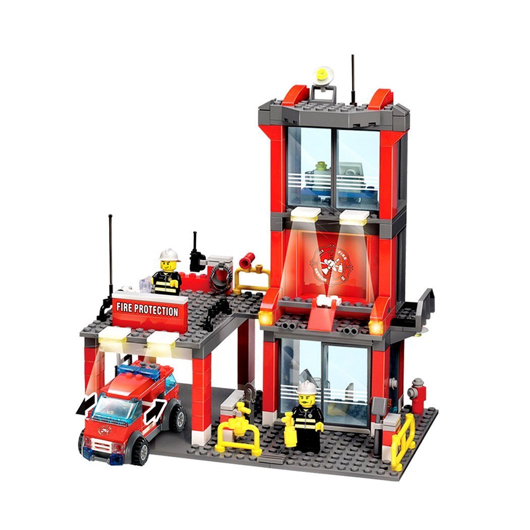 Cheap Fire Building Find Deals On Line At Alibabacom Lego 10593 Duplo Station Get Quotations Homure 300pcs Kazi City Blocks Compatible With Truck Model