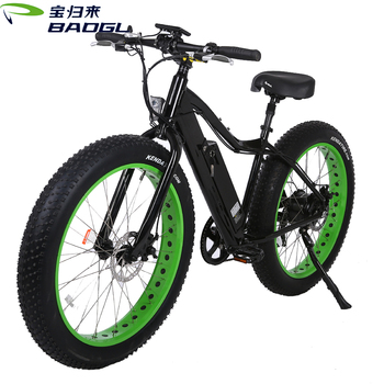 2017 The Latest Research Mountain Electric Bike Black Electric Bicycle