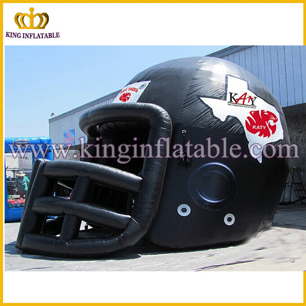 2016 New design inflatable football helmet tunnel,inflatable entrance tunnel for sport games