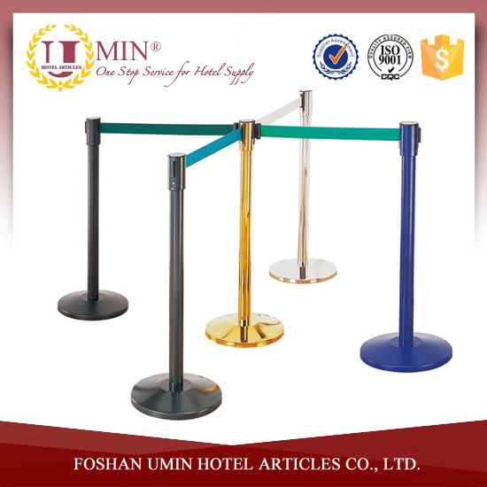 Crowd Control Stanchion/Retractable Belt Barrier Stand