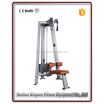 ce approved gym used commercial dual pulley lat pulldown tower buy