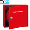 Firefighting equipment fire hose reel cabinet with hose reel