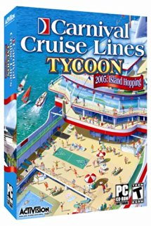 Carnival Cruise Line Tycoon 2005: Island Hopping - PC