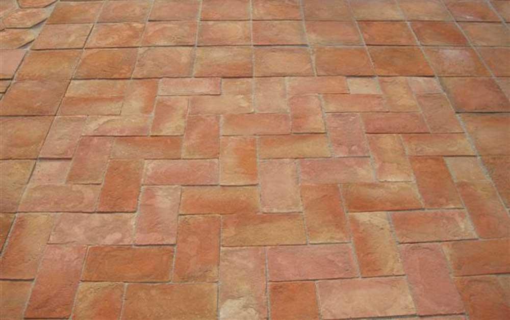 Terrakotta fu boden fliese anderer boden produkt id for Precio mosaicos para exterior