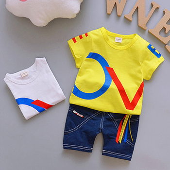 Different colors baby boy short sleeve t-shirt kids wholesale