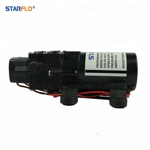 STARFLO 12v dc 55psi prominent mini diaphragm water pump specification for agricultural spraying