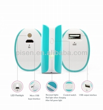 power bank 5000(blue green),Funny Power 5000mAh,best power bank 5000,