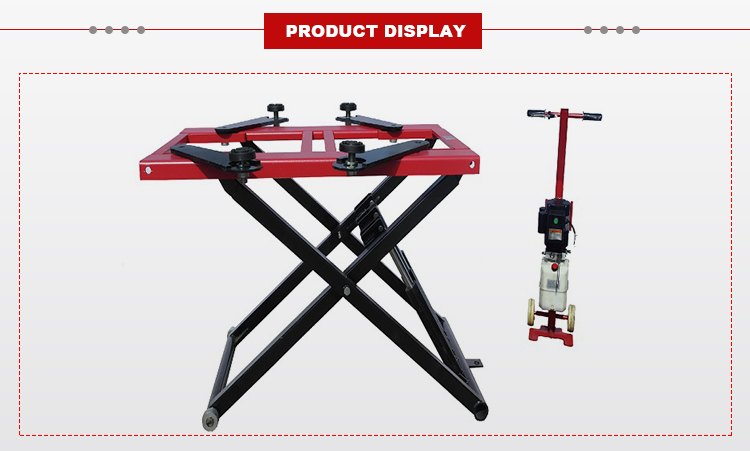 Electric Automotive Car Aluminum Hydraulic Portable Scissor Lift  JUNHV JH-2800S