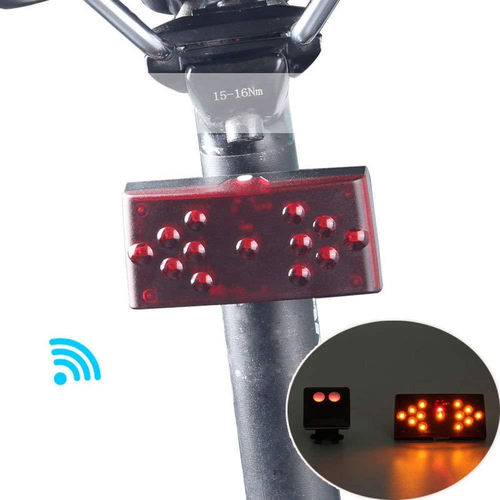 Induction Bicycle Bike Light Rear Tail Cycling Safety Warning Flashing Lamp