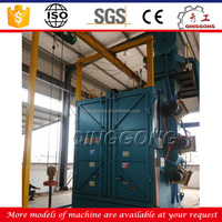 CE Approved Spinner Hanger Type Wheel Shot/Sand Blasting Machine/Equipment Price for Sale