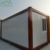 20ft steel frame flat pack container house for sale