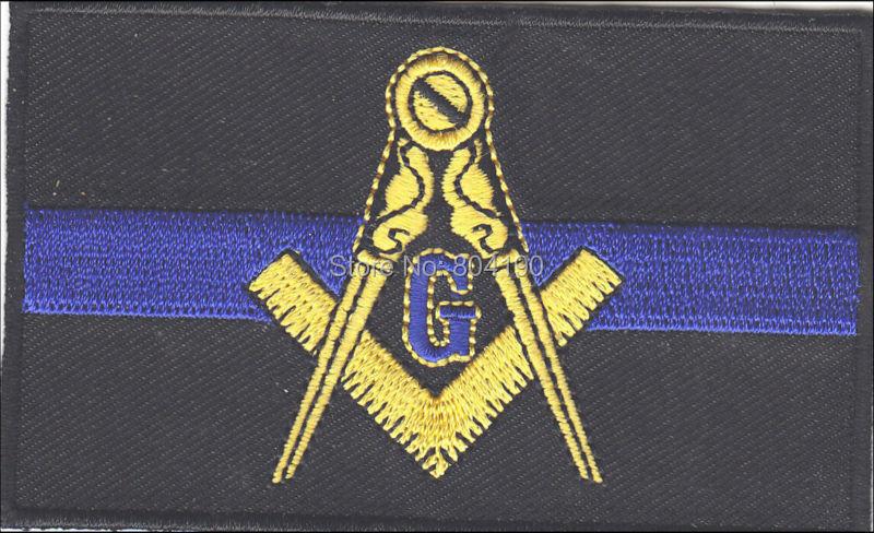 Masonic motorcycle emblem - Masonic Patches - CafePress