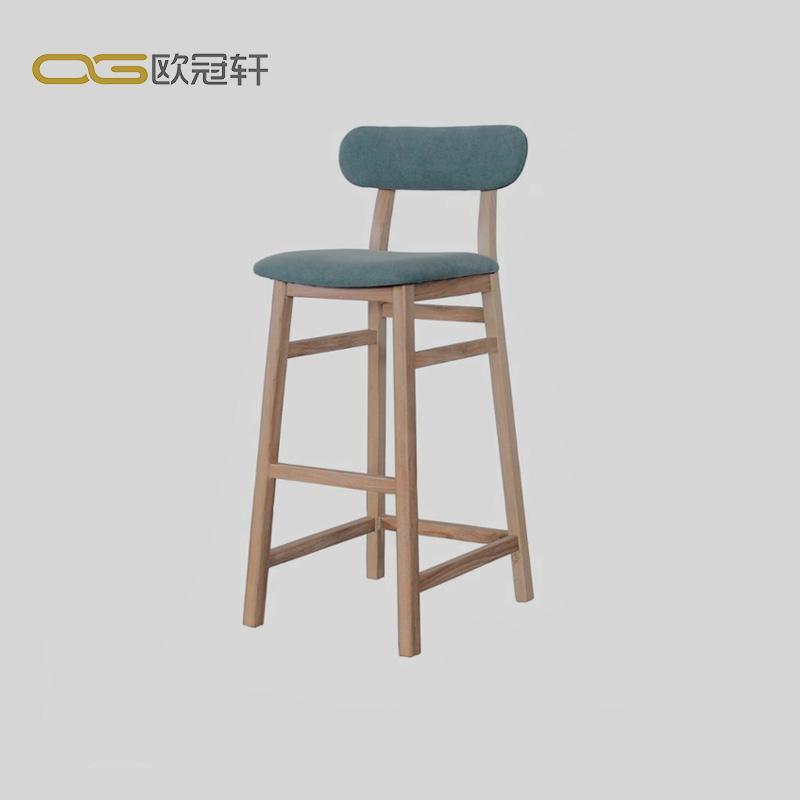 Blue Ktv Bar Furniture Vintage Bar Stool Legs Wooden Bar Stool