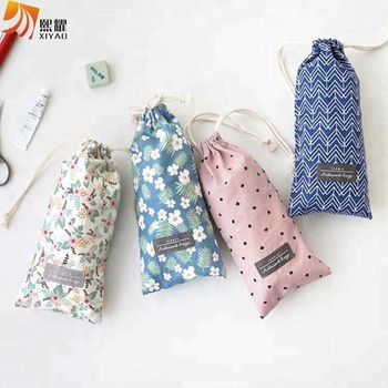 Comely String Pouch Drawstring Makeup Bag Accessory Pouch
