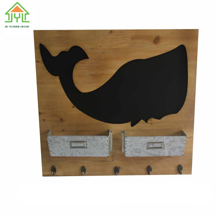 Beautiful Preferential Print News Word Color Outdoor animal shape wall chaklboradwith hooks For Sale