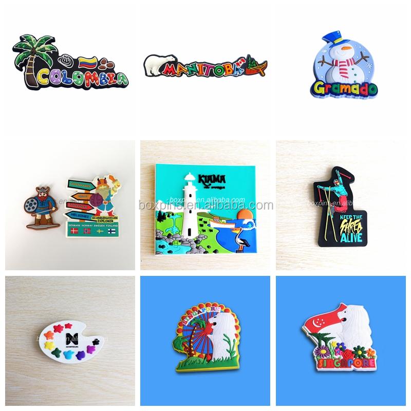 Custom Eco-friendly PVC Fridge Magnet Basra SymbolTourist Souvenir/Promotional Gifts