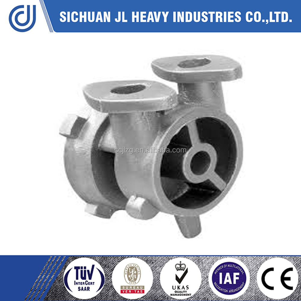 Butterfly valve steel sand casting factory made by JL