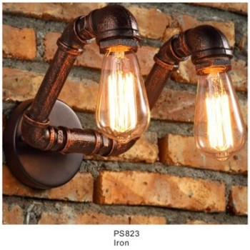 New Machine Age Pipe Led Pendant Lamp With Vintage Industry Style Product On
