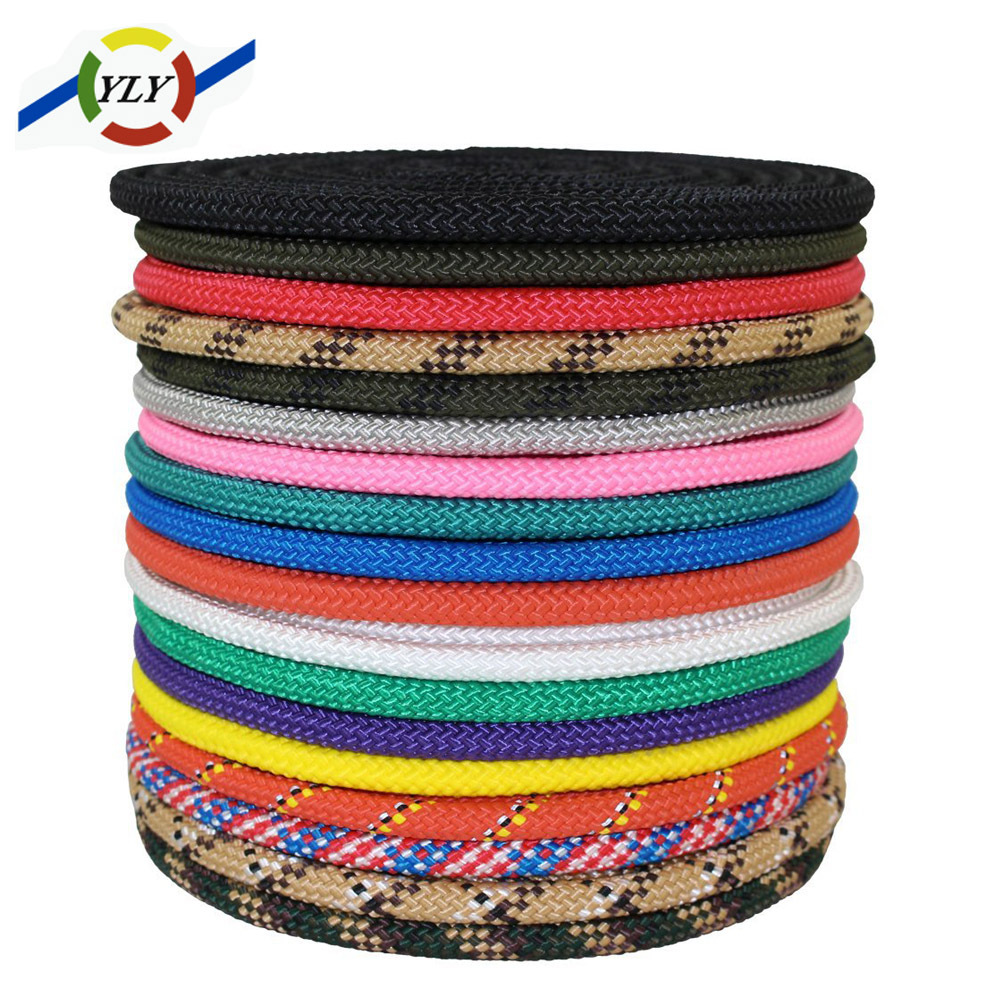 Low MOQ nylon / pp braided rope 10mm for yacht