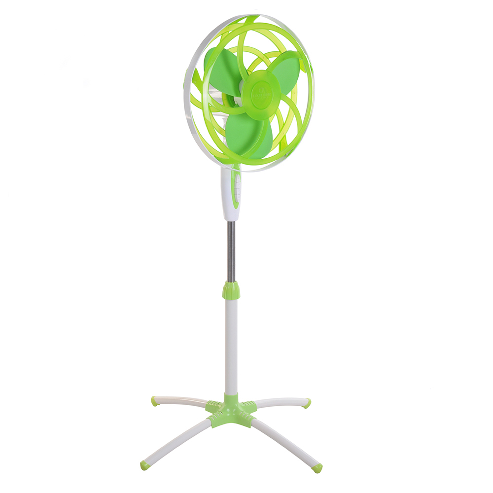 16 inch electric fan with foam blade new colorful big stand fan CE,GS,RoHS
