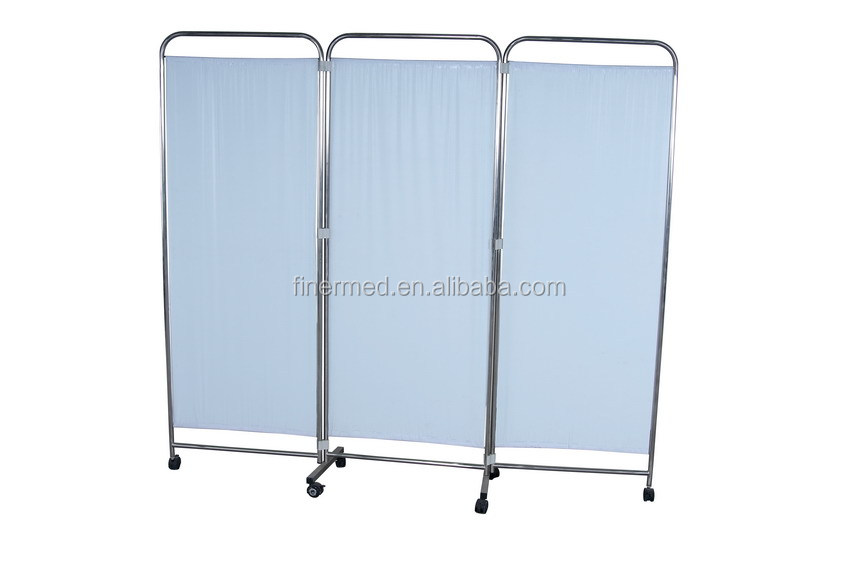 Movable Folding hospital ward screen