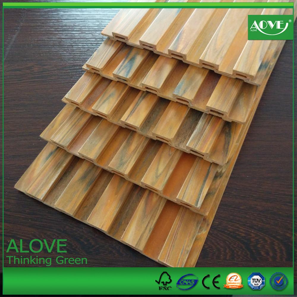 Venta al por mayor madera plastica perfiles pre online los